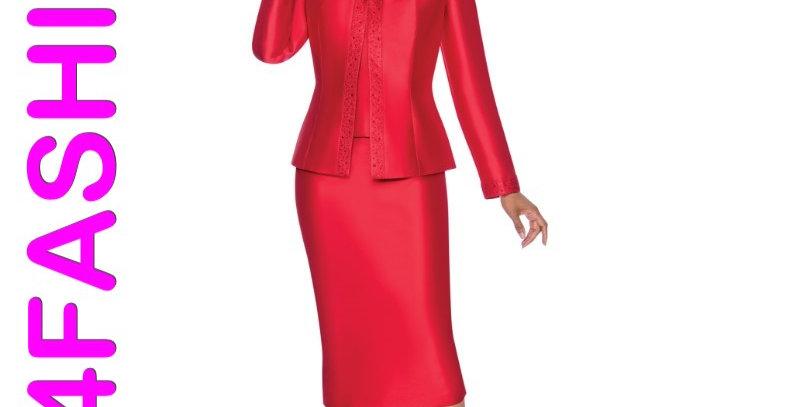 276374 - 3 Pcs Suit - Red