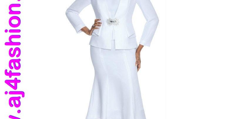 137914 - 3 Pcs Suit - White