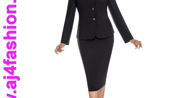 274684 - 2 Pcs Suit - Black