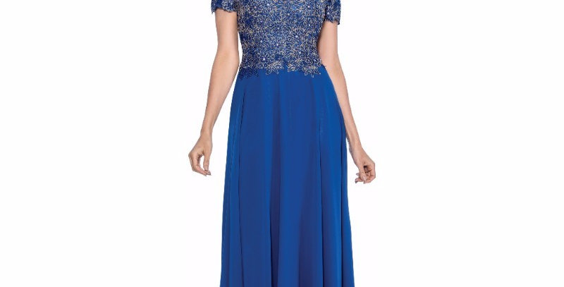 385504 - Dress for special occasion - Royal