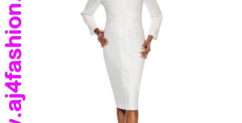 275914 - 1 Pc Dress - White/off