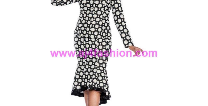 136564 -2 Pcs Suit - Black/White