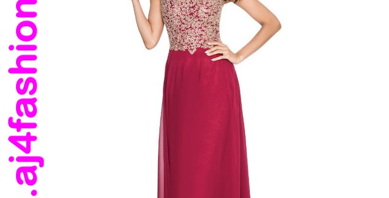 385514 - Dress for special occasion - Burgundy