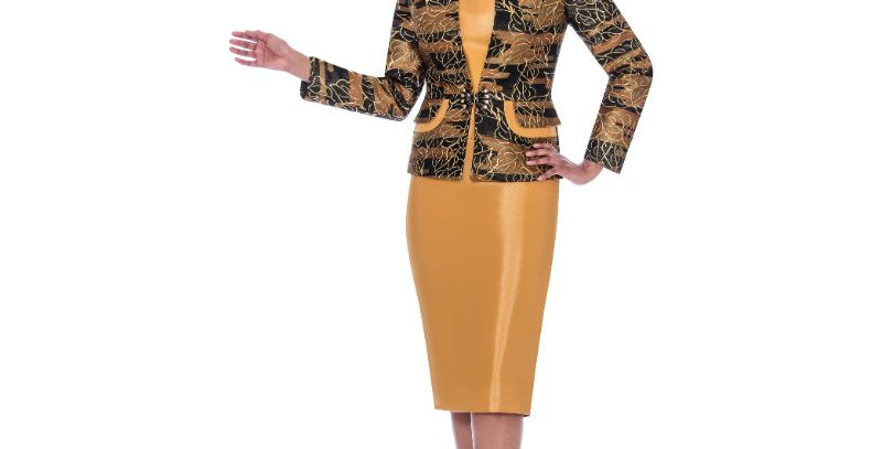 139214 - 3Pcs Suit - Gold