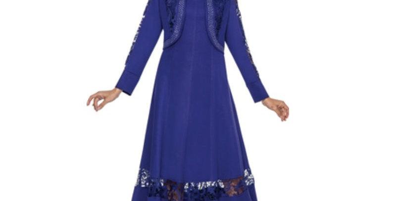 50952   - 2pc Jacket Dress - Purple