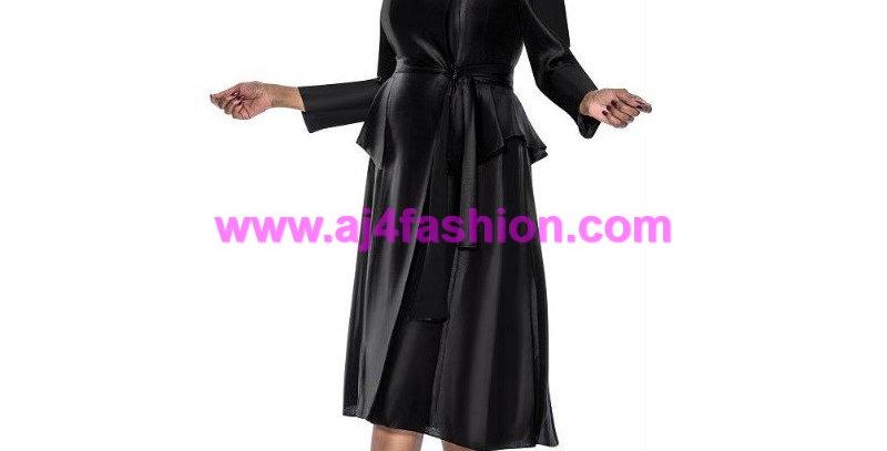 136954 - 1Pc Dress - Black