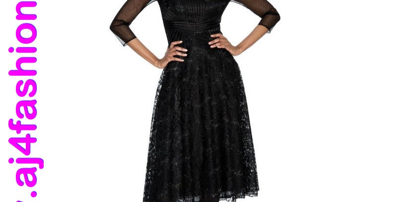 137584 - 1 Pc Dress - Black