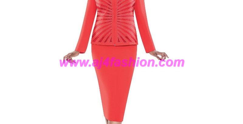 136974 - 2Pcs Suit - Red