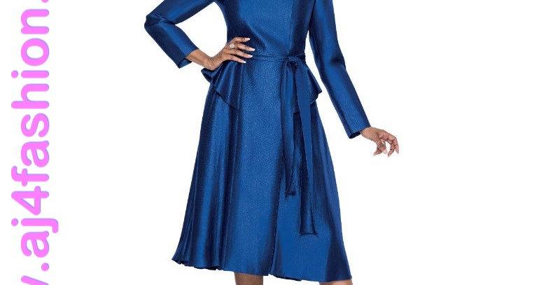 136954 - 1Pc Dress - Royal