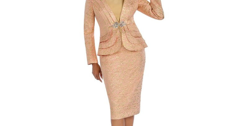 276774 - 3 Pcs Suit Plus Hat - Pink/Gold