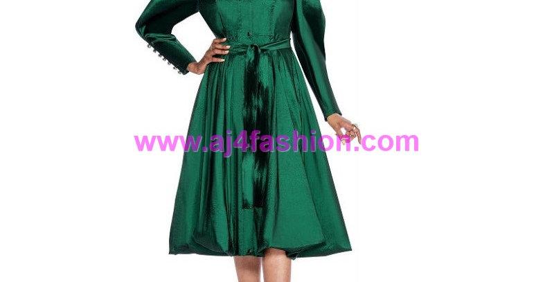 136694 - 1 Pc Dress - Emerald