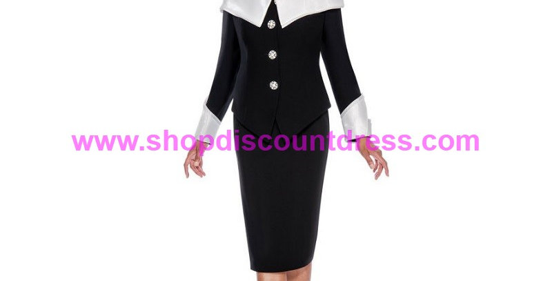 274084 - 2 Pcs Suit Plus Hat- Black