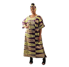 AJ4F362-WH807-Purple-Embroidered-African
