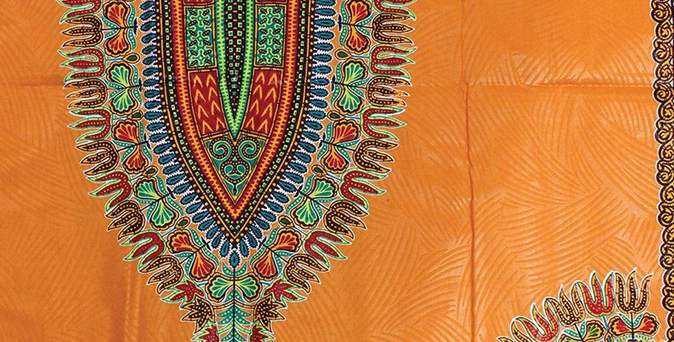 African Fabric - AJ4F311 T-4141 Tangerine
