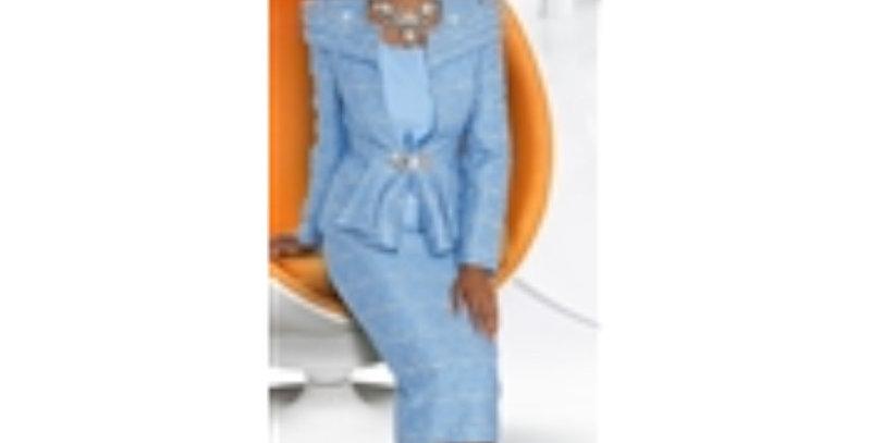 Donna Vinci 5592 Embellished 3pc Suit