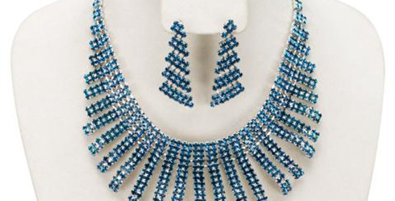Jewerly Set-J208 - Teal