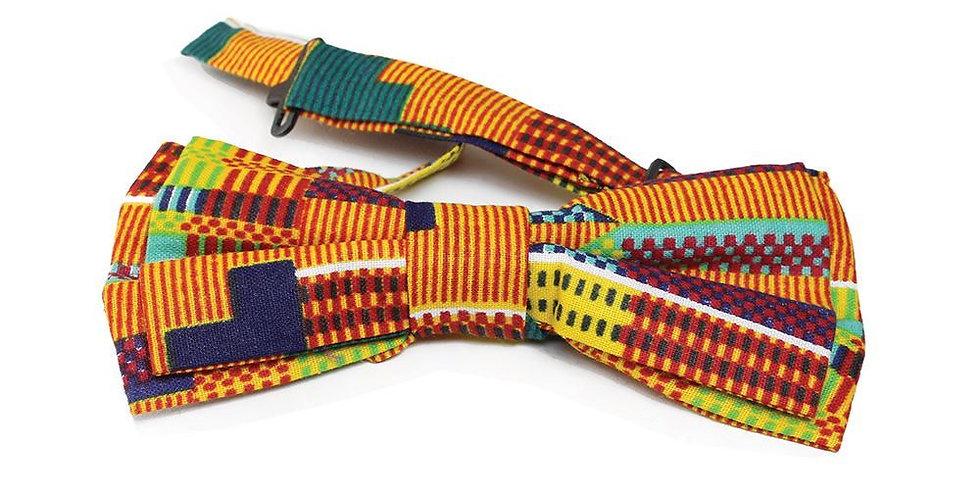 AJ4F321 Kente Bow Tie CA917