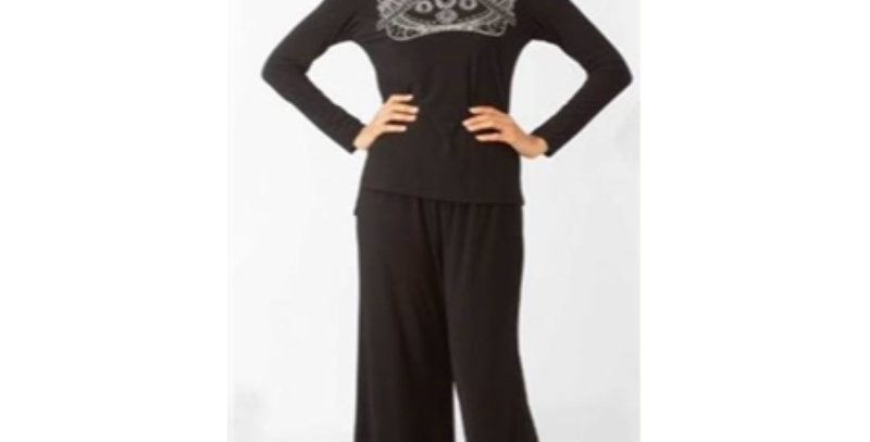 Lily & Taylor 3500 Pant Suit - Black
