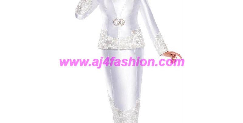275252 - 2 Pcs Suit - White