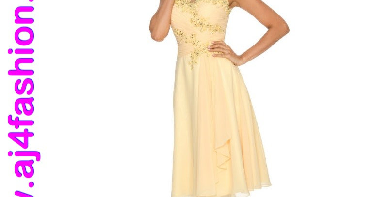 385744 - Dress for special occasion - Yellow