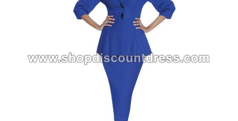 274624 - 2 Pcs Suit- Royal