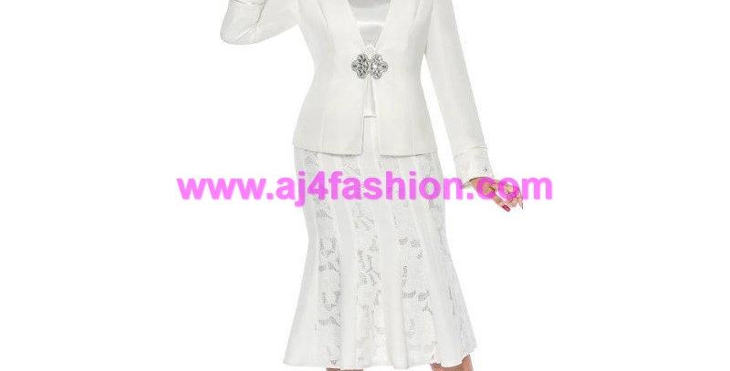 136884 - 3Pcs Suit - White Off