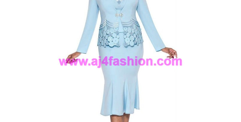 136924 -3 Pcs Set Suit - Baby Blue