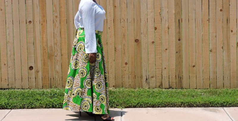 African Skirt Wrap-AJ4F214-6006