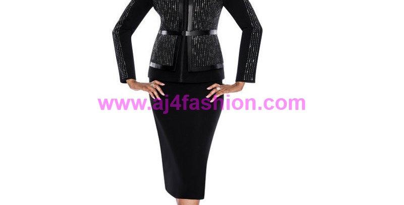 136414 -2 Pcs Suit -Black