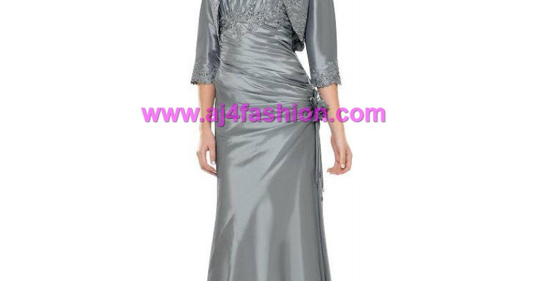 382204 -2Pcs Evening/Special Occasion Dress- Silver