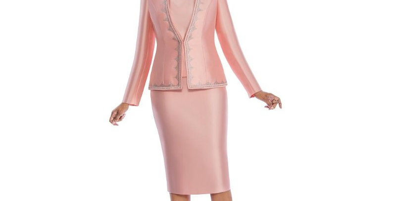 138464 -3 Pcs  Suit - Peach