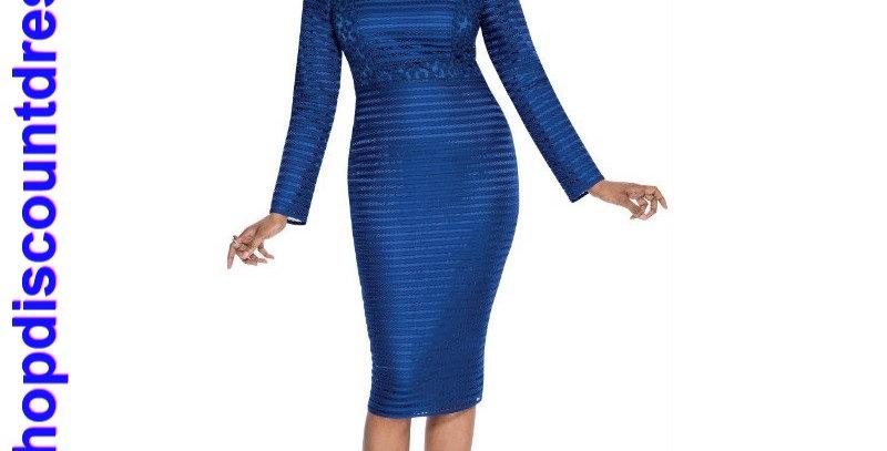 275664 - 1 Pc Dress - Cobalt