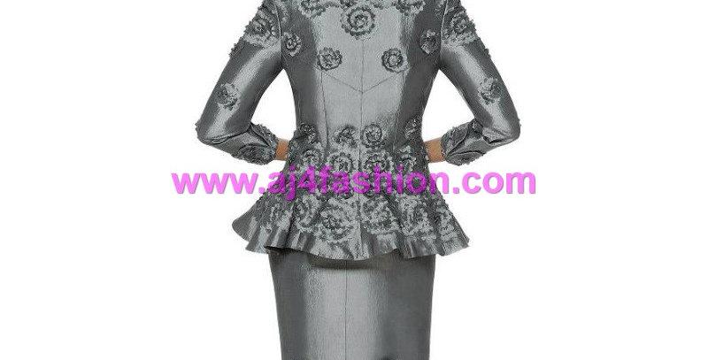 135564  -2 Pcs Suit - Charcoal