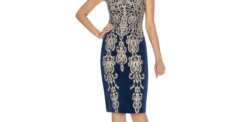 386734 - Dress for Special Occasion - Navy