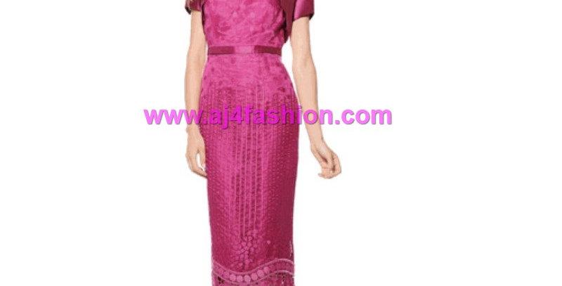 384834 -Special Occasion Dress - Fuchsia