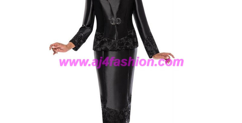 275254 - 2 Pcs Suit - Black