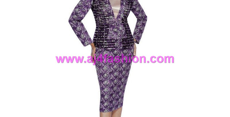 135964 - 3 Pcs Suit - Purple