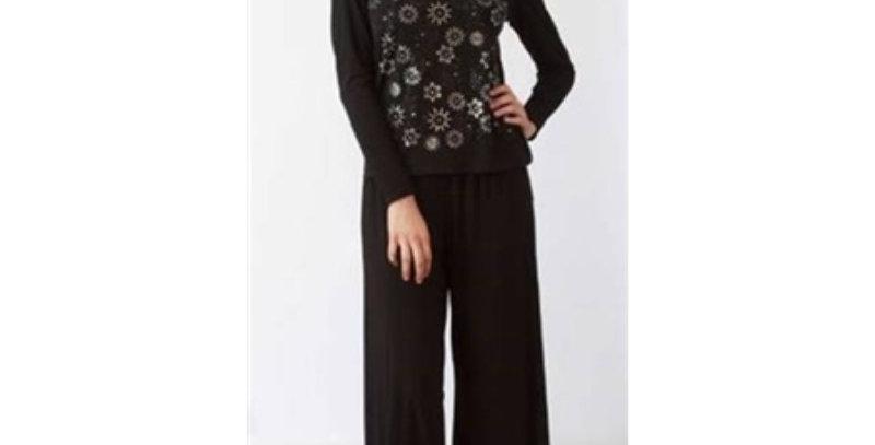 Lily & Taylor 3502 Pant Suit - Black