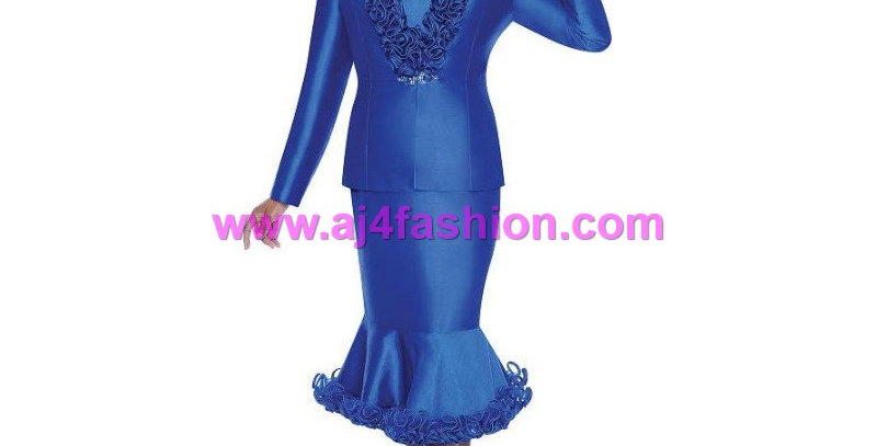 274584 - 2Pcs Suit - Royal Blue