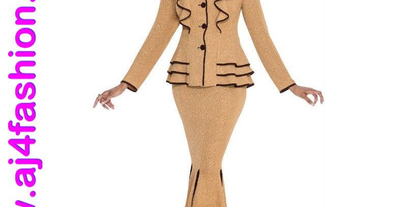 275334 - 2 Pcs Suit - Camel