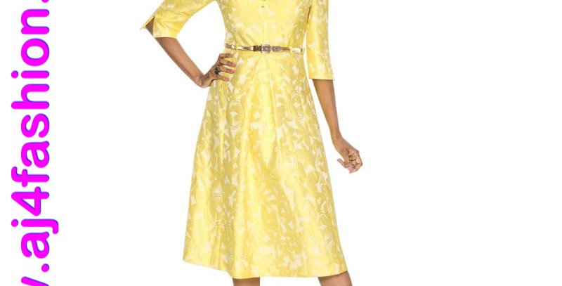 275974 - 1 Pc Dress - Canary