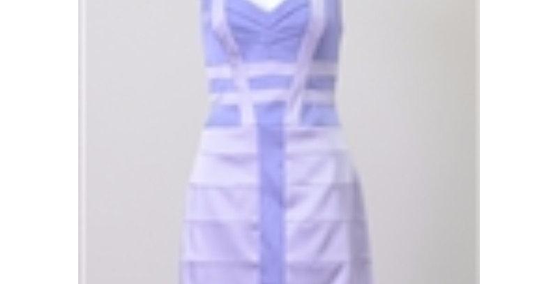 AJ4F219 - Jax Hammered Satin V-Neck Dress