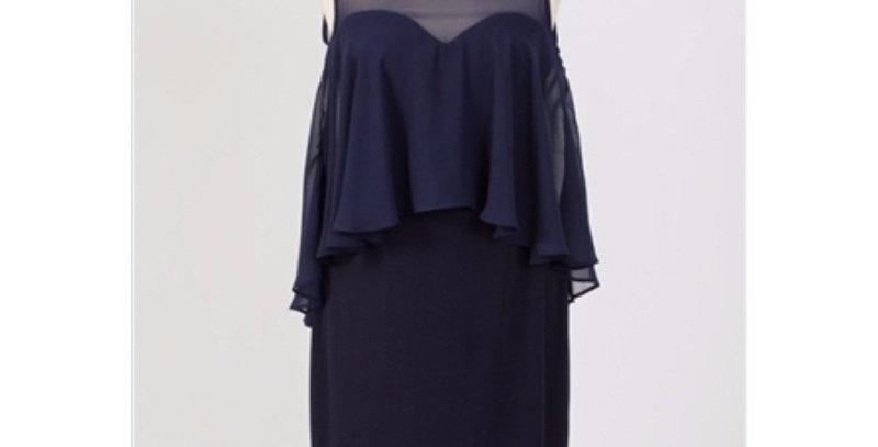 AJ4F235 - Karina Dress - Navy