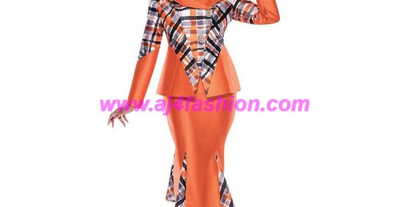 275074 - 2 pcs Suit -Tangerine