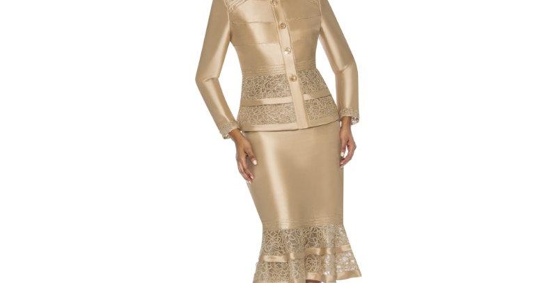 277364 -2 Pcs Suit - Gold