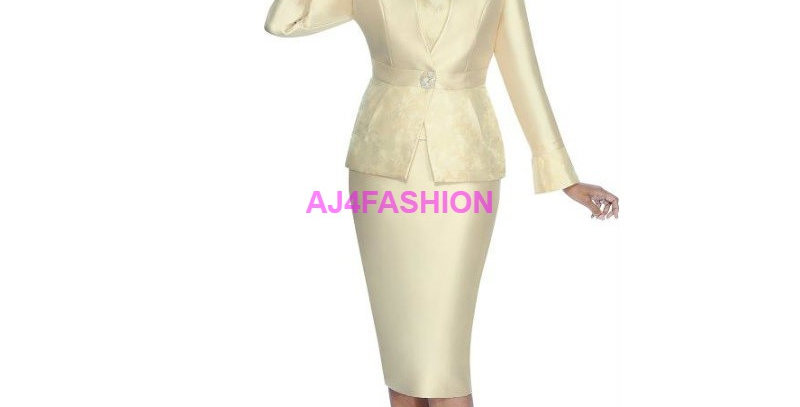 136054 - 2 Pcs Suit - Champagne