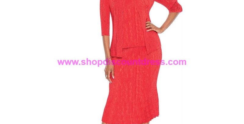 136754 -3 Pcs Skirt Set - Red