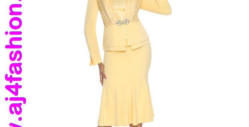 137874 - 3 Pcs Suit - Yellow (Sunflower)