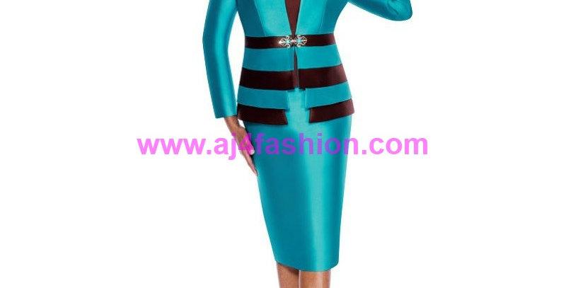 136424 -2 Pcs Suit- Teal