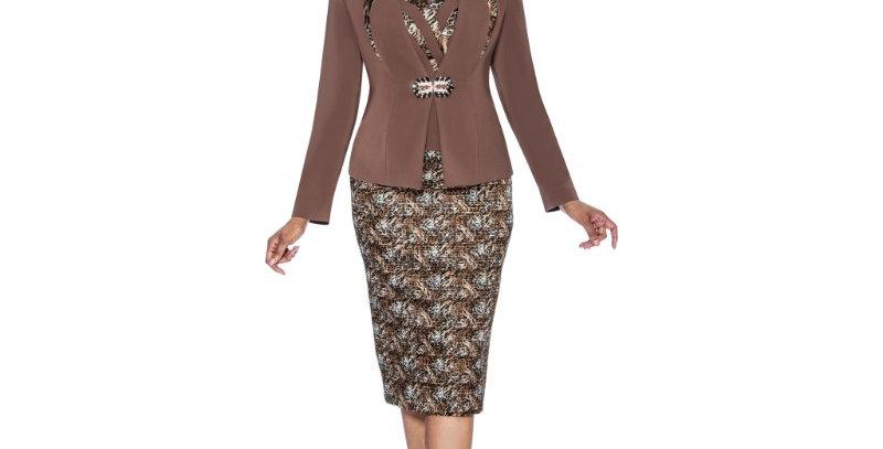 138734 - 3 Pcs Suit - Leopard Plus Hat